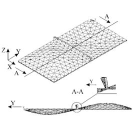 Идентификация виброустойчивых ячеек радиотехнических устройств с ребрами жесткости